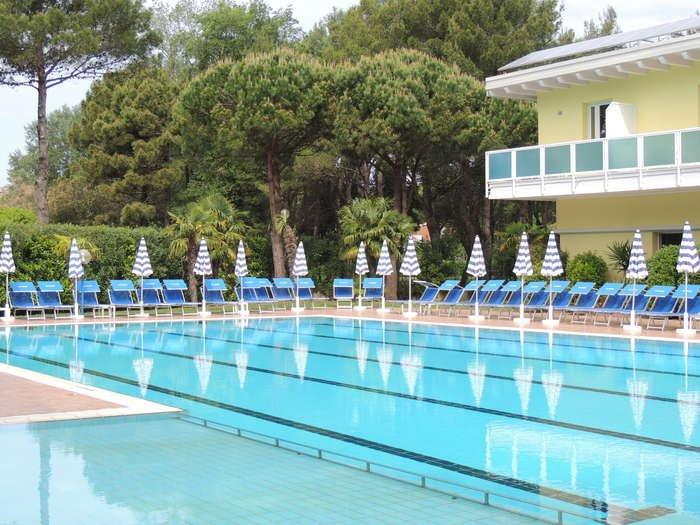 Hotel in Bibione in Lido dei Pini für ausgelassene Ferien am Strand ...